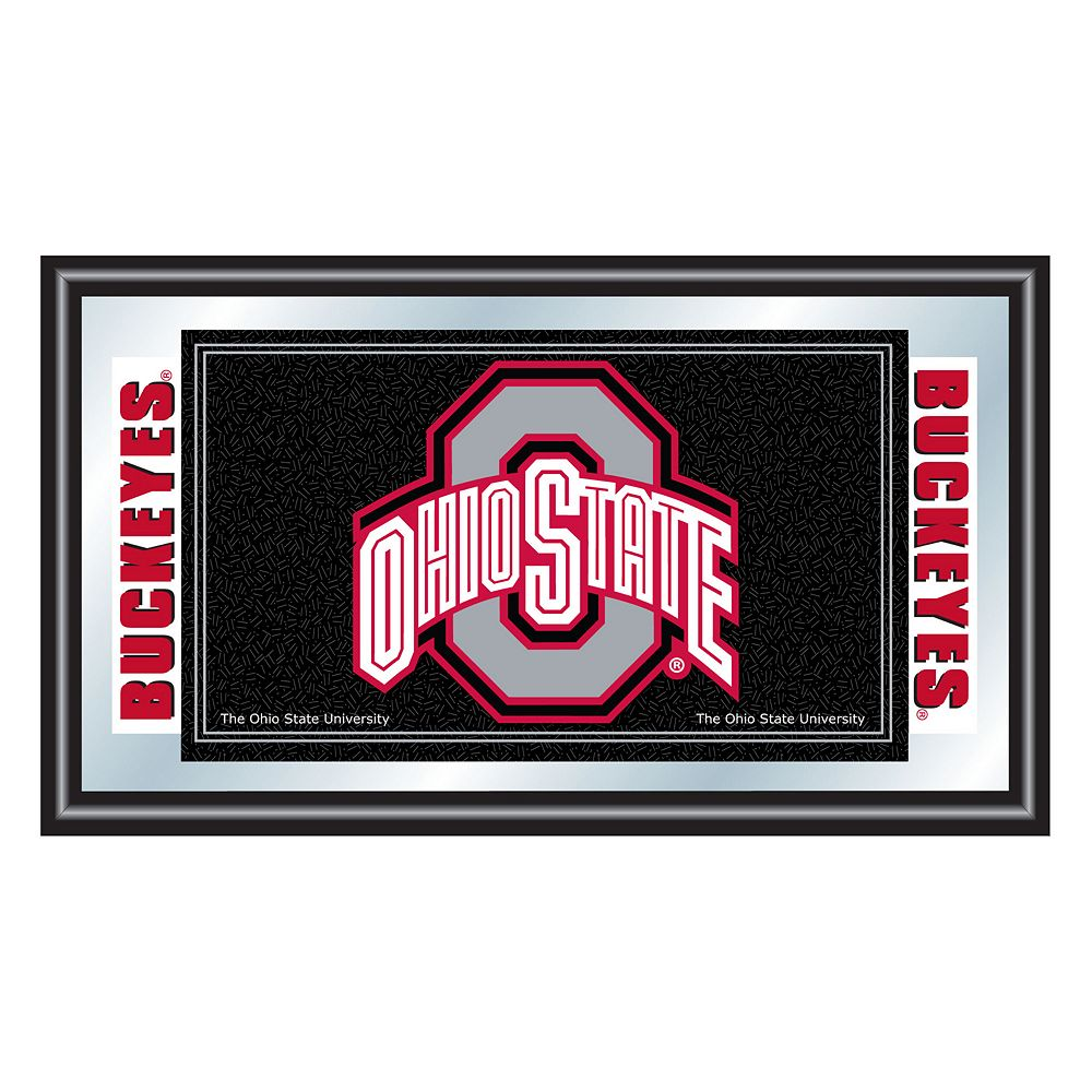 Ohio State Buckeyes Framed Logo Wall Art