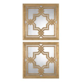 Uttermost Piazzale 2-piece Square Wall Mirror Set