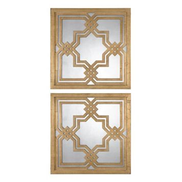Piazzale 2-piece Square Wall Mirror Set