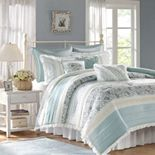 Madison Park Vanessa 9-piece Comforter Set with Coordinating Pillows