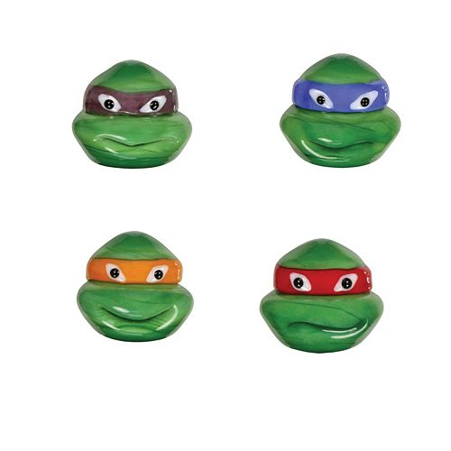 Teenage Mutant Ninja Turtles 4-pk. Mini Figurines by Glass World