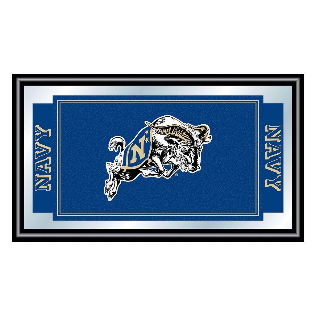Navy Midshipmen Framed Logo Wall Art