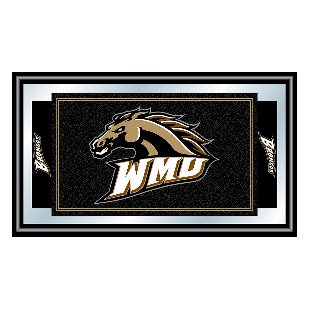 Western Michigan Broncos Framed Logo Wall Art