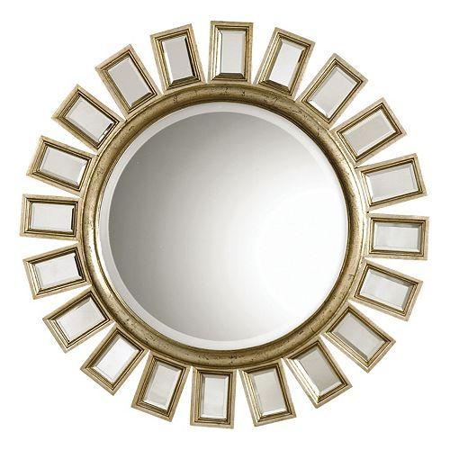 Cyrus Round Beveled Wall Mirror