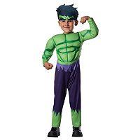 Marvel Avengers Assemble Hulk Costume - Toddler