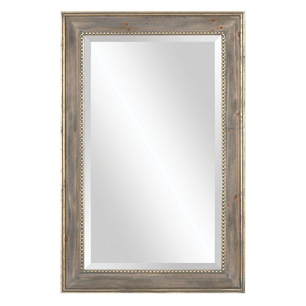 Quintina Pine Beveled Wall Mirror