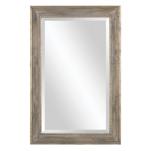 Quintina Pine Beveled Wall Mirror