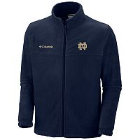 Men's Columbia Notre Dame Fighting Irish Flanker II Full-Zip Fleece