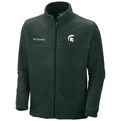 Men's Columbia Michigan State Spartans Flanker II Full-Zip Fleece