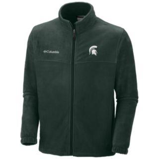 Men's Columbia Michigan State Spartans Flanker II Full-Zip Fleece