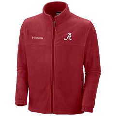 Men's Columbia Alabama Crimson Tide Flanker II Full-Zip Fleece