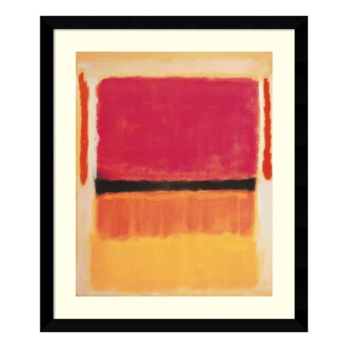 Colorblock Abstract Wall Art
