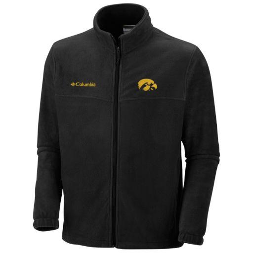 Men's Columbia Iowa Hawkeyes Flanker II Full-Zip Fleece