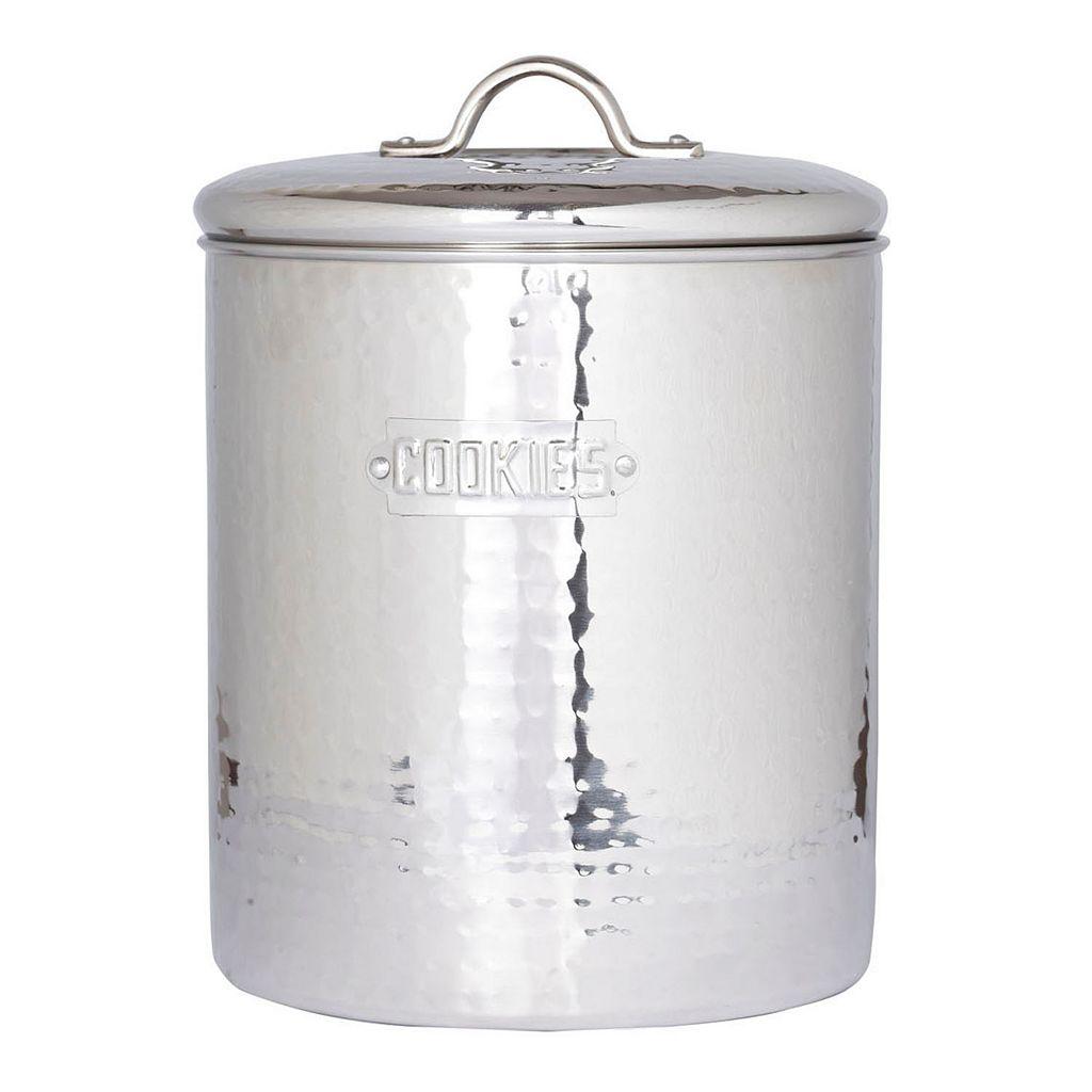 Old Dutch Stainless Steel Cookie Jar