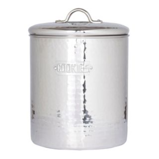 Old Dutch Stainless Steel Cookie Jar
