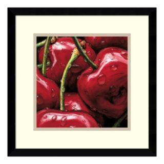 ''Cherries'' Framed Wall Art