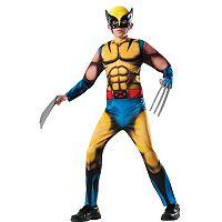 Marvel Deluxe Wolverine Costume - Kids