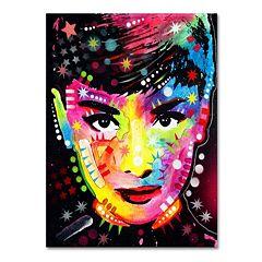 19'' x 14'' ''Audrey'' Canvas Wall Art