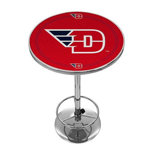 Dayton Flyers Chrome Pub Table