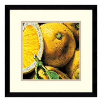 Lemons\'\' Framed Wall Art