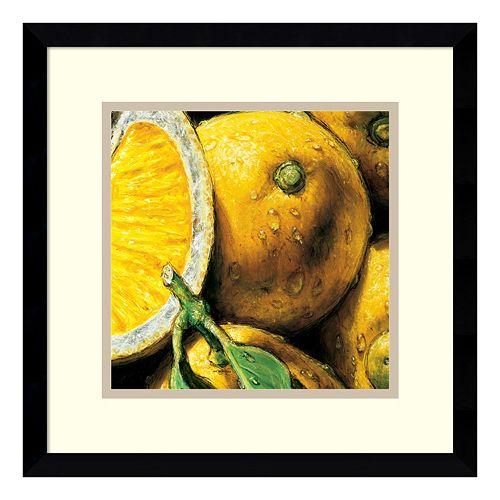 ''Lemons'' Framed Wall Art