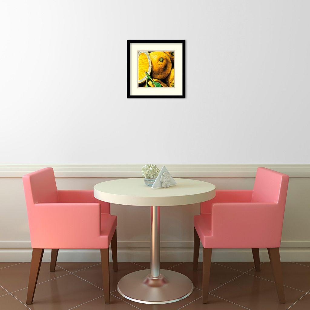 ''Lemons'' Framed Wall Art
