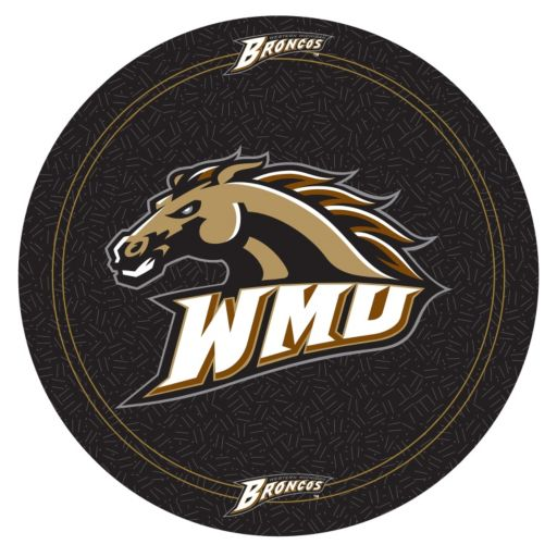 Western Michigan Broncos Chrome Pub Table