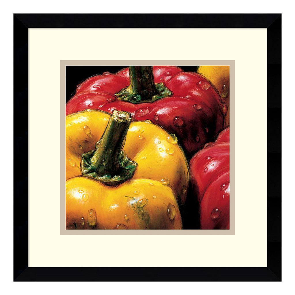 ''Peppers'' Framed Wall Art