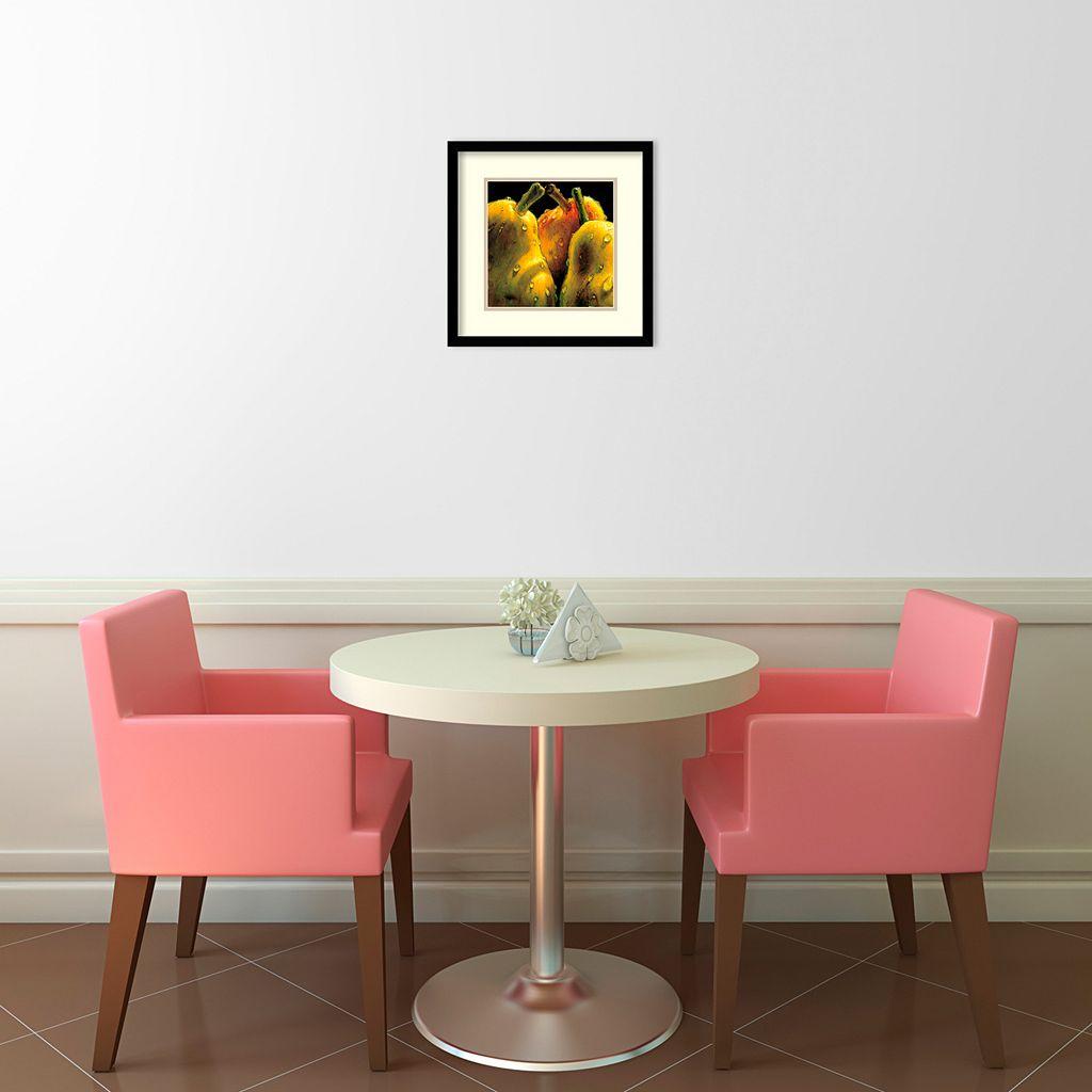 ''Pears'' Framed Wall Art