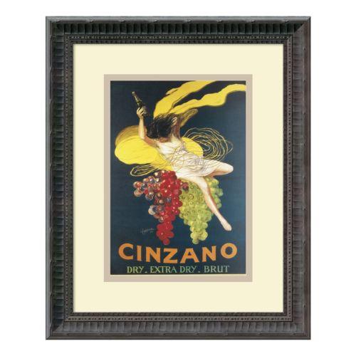 ''Cinzano'' Framed Art Print by Leonetto Cappiello