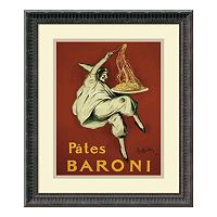''Pates Baroni'' Framed Art Print by Leonetto Cappiello
