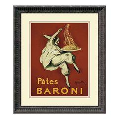 ''Pates Baroni'' Framed Art Print by Leonetto Cappiello