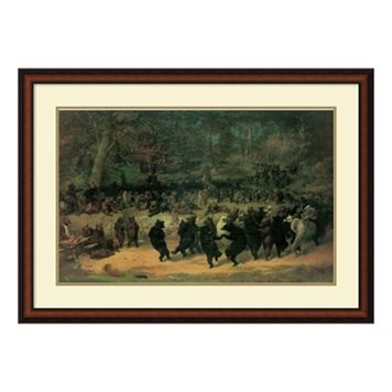 ''The Bear Dance'' Framed Wall Art