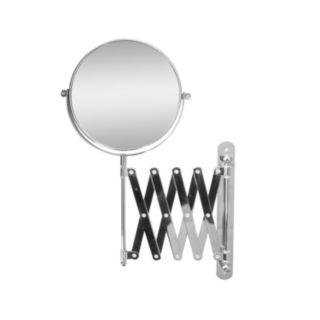 Elegant Home Fashions 6.7-in. Adjustable Scissor-Arm Wall Mirror