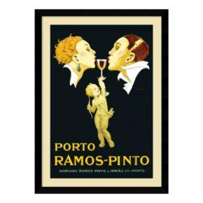 ''Porto Ramos-Pinto'' Framed Wall Art