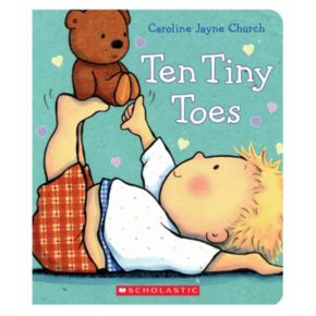 Ten Tiny Toes by Caroline Jayne Church