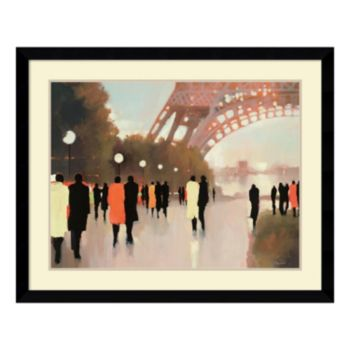 ''Paris Remembered'' Framed Wall Art