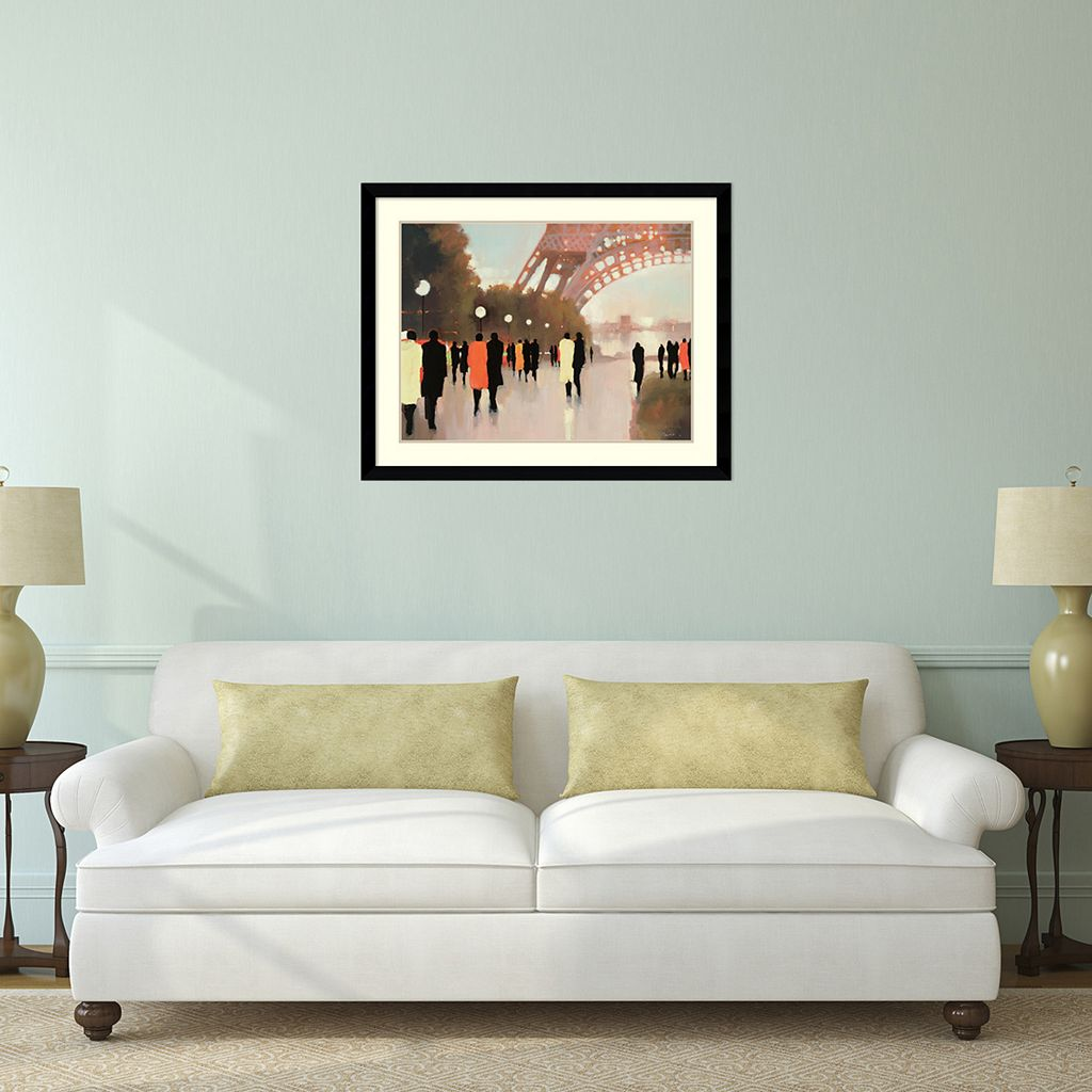 ''Paris Remembered'' Framed Wall Art