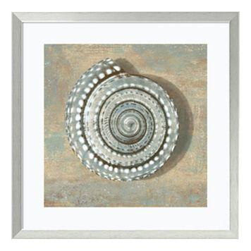 ''Seashell'' Framed Wall Art