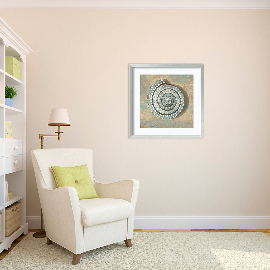''Seashell'' Framed Wall Art