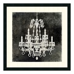 ''Chandelier II'' Framed Wall Art