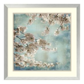''Blossoms II'' Floral Framed Wall Art