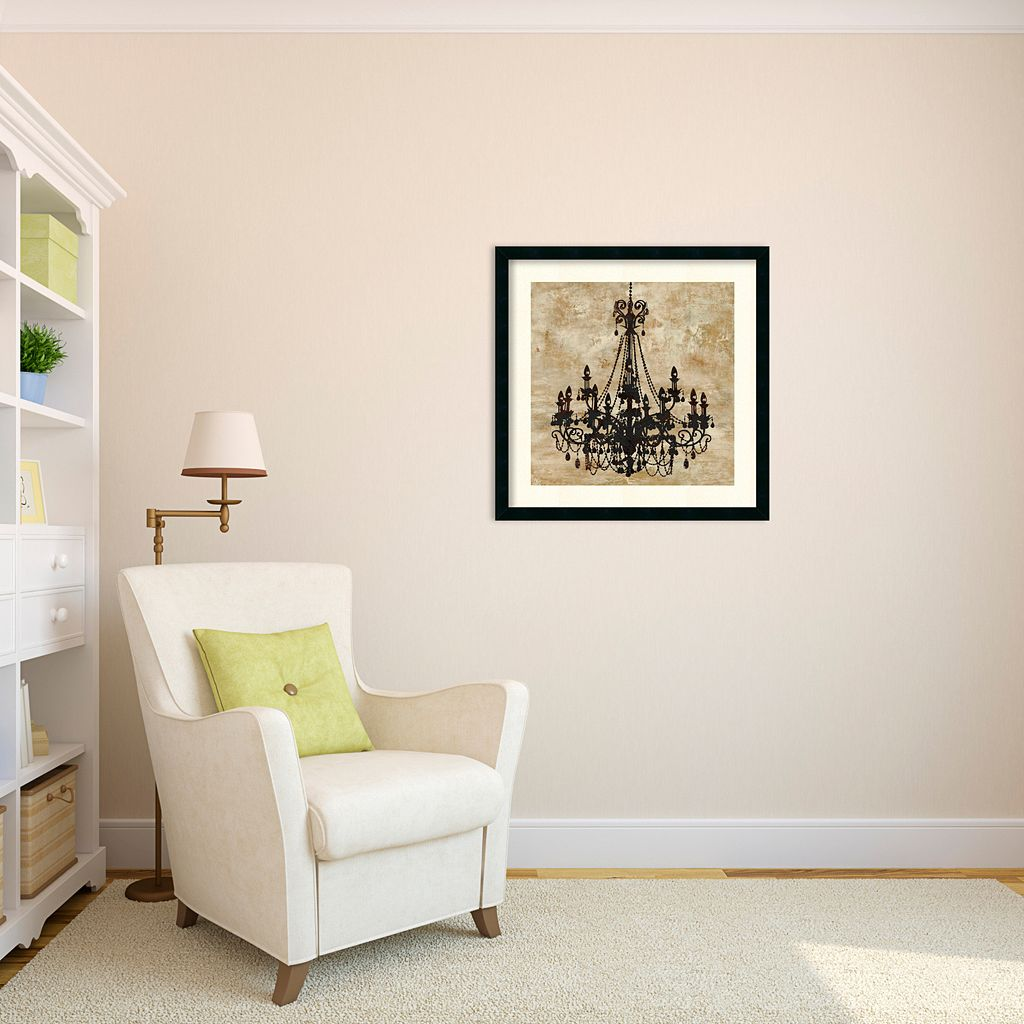 ''Chandelier I'' Framed Wall Art