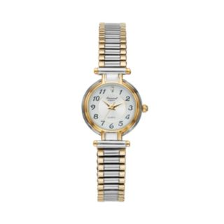 Precision by Gruen Women's Two Tone Stainless Steel Expansion Watch
