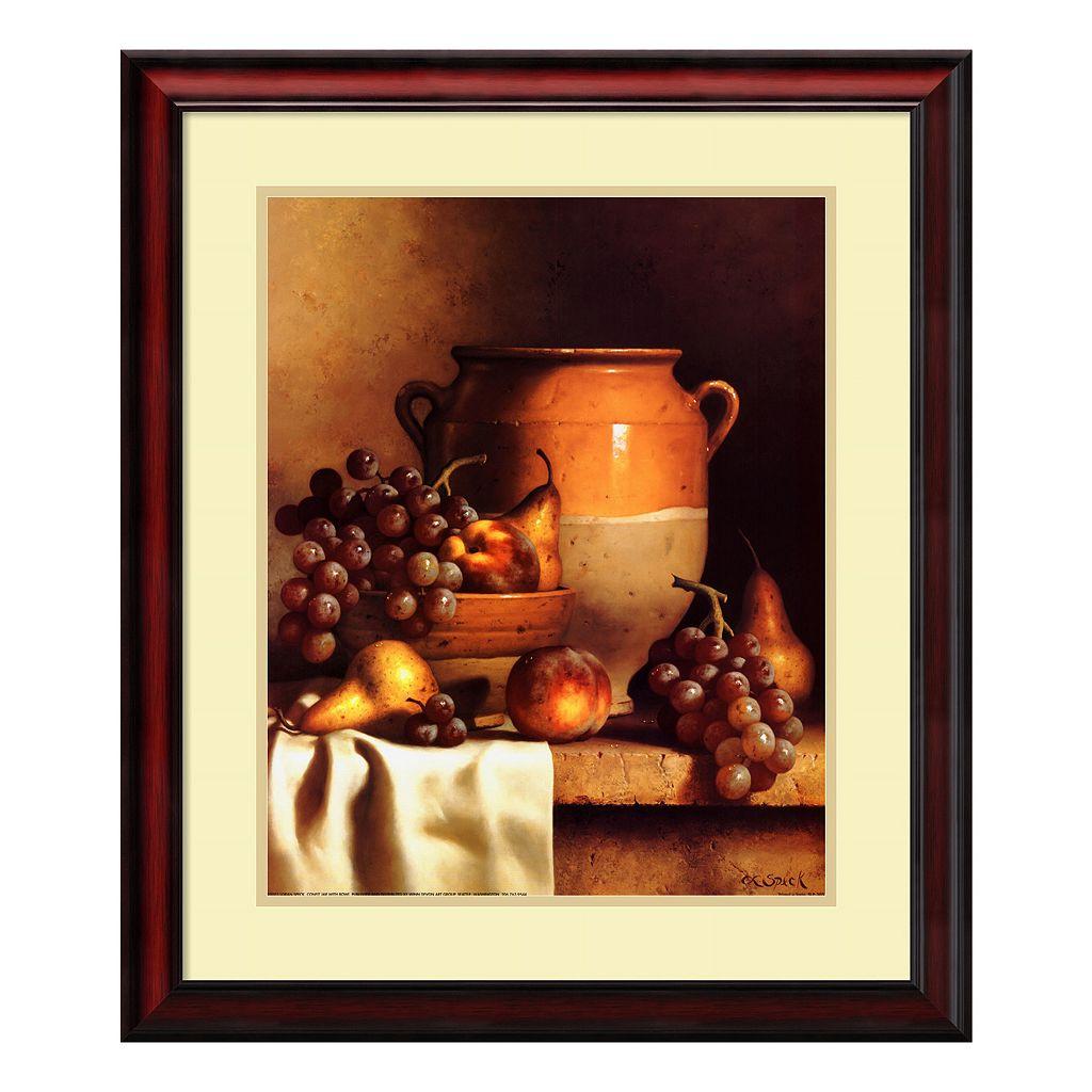 'Confit Jar & Bowl'' Framed Wall Art