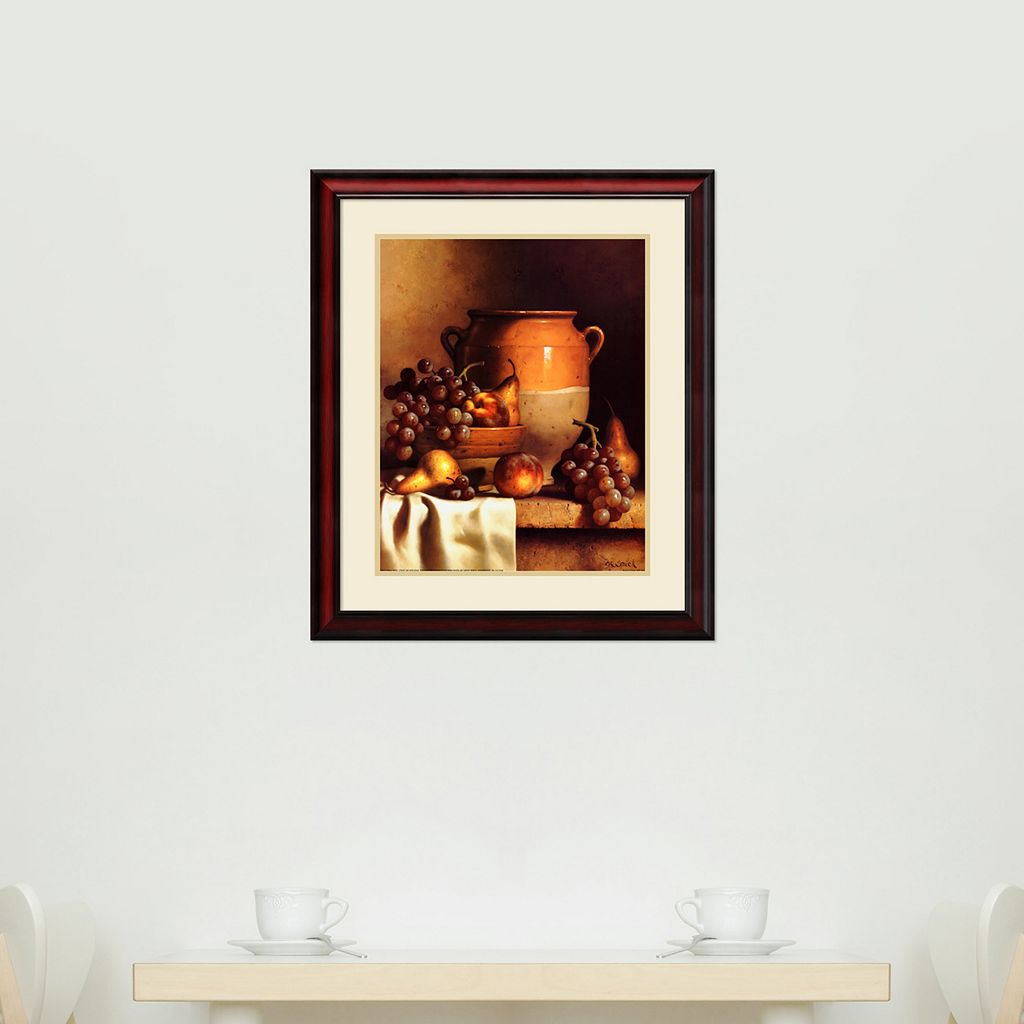 'Confit Jar and Bowl'' Framed Wall Art