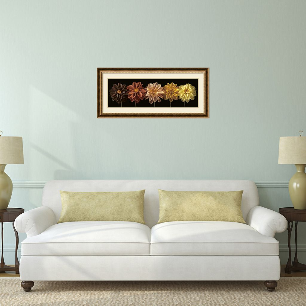 'Floral and Still Life Salute'' Framed Wall Art