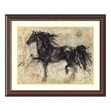 ''Lepa Zena'' Horse Framed Wall Art