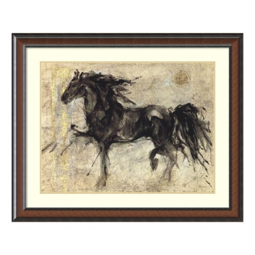 """Lepa Zena"" Horse Framed Wall Art"