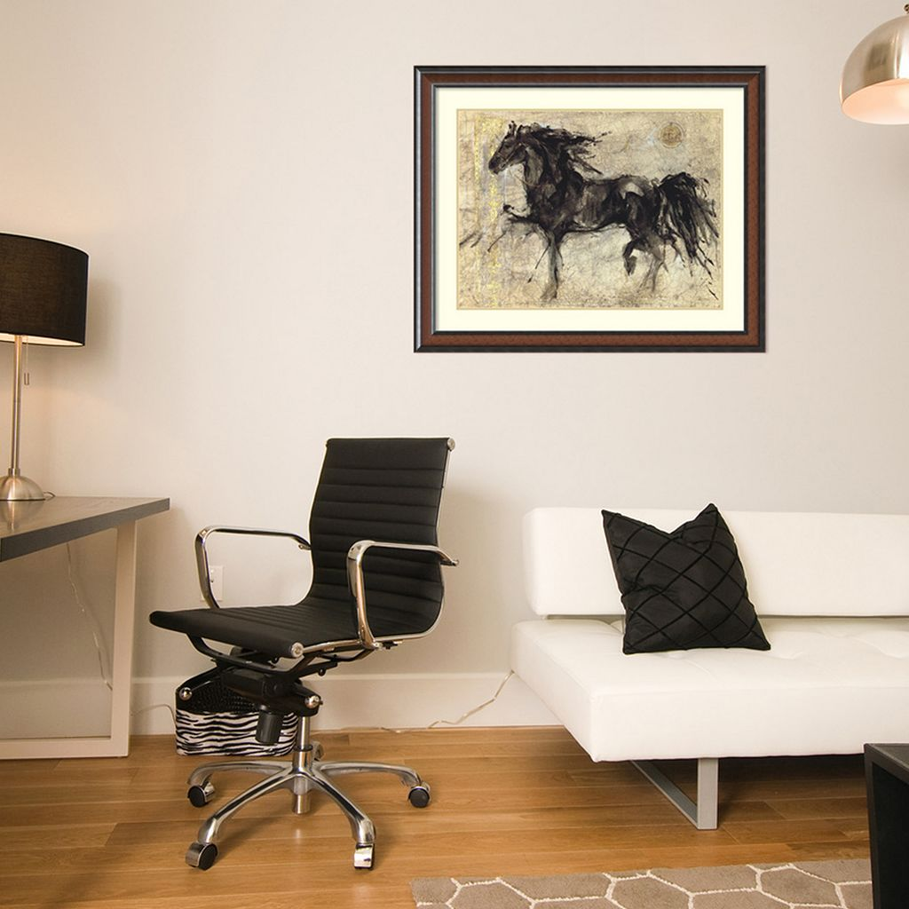 ''Lepa Zena'' Horse Framed Wall Art